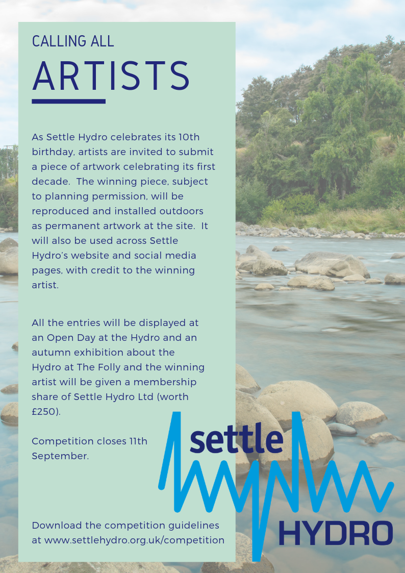 Settle Hydro Artwork Competition Poster