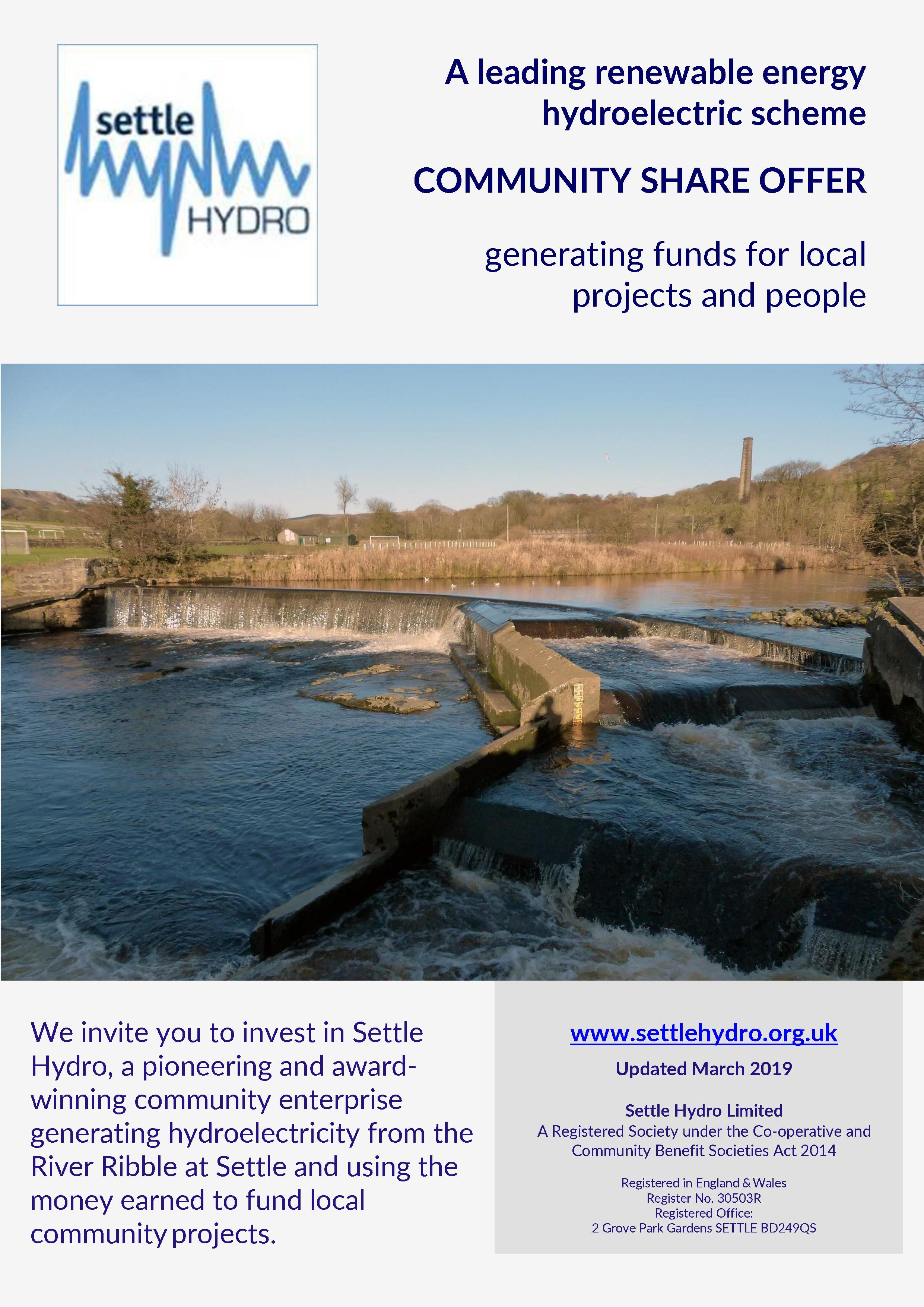 Settle Hydro Investment Prospectis 2019